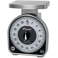 San Jamar / Escali SCMDL2 2 lb. Mechanical Dial Portion Control Kitchen Scale