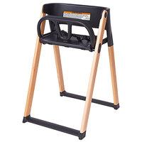 Koala Kare KB615-02 Koala Stowe Black / Natural Foldable High Chair