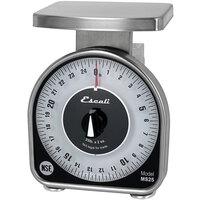 San Jamar / Escali SCMDL25 25 lb. Mechanical Dial Portion Control Kitchen Scale