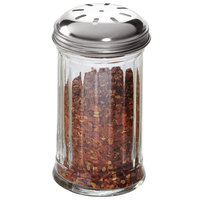 American Metalcraft GLA317 12 oz. Glass Spice Shaker with Stainless Steel Lid