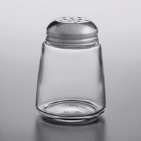 American Metalcraft 3308 8 oz. Glass Cheese Shaker