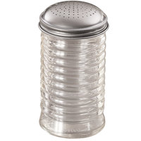 American Metalcraft BEE318 12 oz. Glass Beehive Dredge / Shaker with Stainless Steel Lid