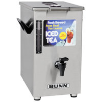 Bunn 03250.0006 TD4 4 Gallon Square Iced Tea Dispenser with Brew-Through Lid
