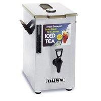 Bunn 03250.0006 TD4 4 Gallon Square Iced Tea Dispenser with Brew-Through Lid