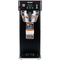 Bunn 36600.0004 BrewWISE ICB-DV Black Infusion Coffee Brewer - Dual Voltage