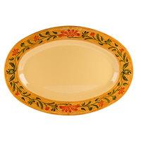 GET OP-950-VN Venetian 9 1/2 inch x 7 1/4 inch Oval Platter - 24/Case