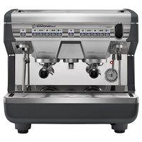 Nuova Simonelli Appia II Compact 2 Group Volumetric Espresso Machine with Auto-Steam Wand - 220V
