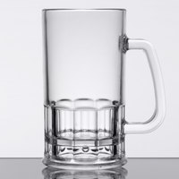 GET 00085-SAN-CL 20 oz. Customizable SAN Plastic Beer Mug - 12/Pack