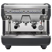 Nuova Simonelli Appia II Compact 2 Group Volumetric Espresso Machine with Auto-Steam Wand - 110V