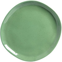 American Metalcraft CP10SA Crave 11 1/8 inch Sage Coupe Melamine Plate
