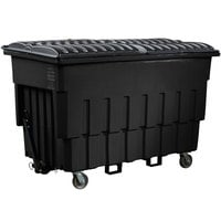 Toter FLM20-00BLK 2 Cubic Yard Blackstone Mobile Truck with Attached Lid (1000 lb. Capacity)