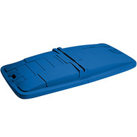 Toter LM110-00BLU Blue Removable Solid Lid for 1 Cubic Yard Universal Mobile Waste Receptacles