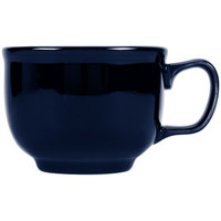 Homer Laughlin 149105 Fiesta Cobalt Blue 18 oz. Jumbo Cup - 12/Case