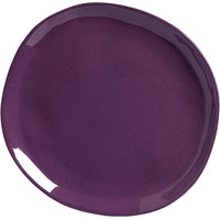 American Metalcraft CP10DU Crave 11 1/8 inch Dusk Coupe Melamine Plate