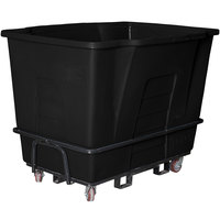 Toter AM120-00BLK 2 Cubic Yard Blackstone Universal Mobile Waste Receptacle (2300 lb. Capacity)