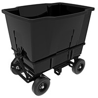 Toter AMA20-00BLK 2 Cubic Yard Blackstone Rapid Speed Mobile Waste Receptacle (1500 lb. Capacity)