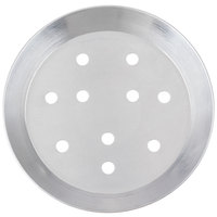 American Metalcraft CAR8P 7 3/4 inch Perforated Heavy Weight Aluminum CAR Pizza Pan