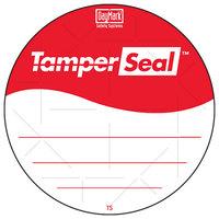 DayMark IT118674B TamperSeal 3 inch Hand-Writable Tamper-Evident Label   - 24/Case