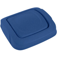 Toter SSD35-00BLU Blue Square Swing Door Lid for 35 Gallon Slimline Trash Cans