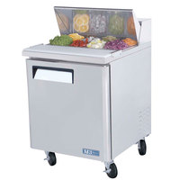 Turbo Air MST-28 27 inch M3 Series Single Door Refrigerated Salad / Sandwich Prep Table