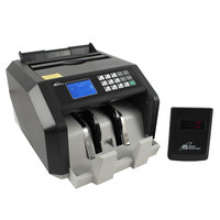 Royal Sovereign RBC-ES250 Back-Load U.S. Bill Counter with Counterfeit Detection and External Display - 110V