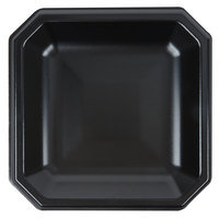 Genpak SQ09 Premium 9 inch Laminated Black Foam Plate - 400/Case
