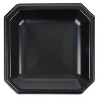 Genpak SQ09 Premium 9 inch Laminated Black Foam Plate - 400/Case