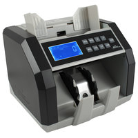 Royal Sovereign RBC-ED200 Front-Load U.S. Bill Counter with Counterfeit Detection - 110V