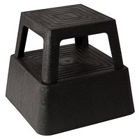 Continental 523BK 13 inch Black Mobile Step Stool