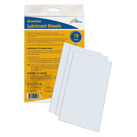 Royal Sovereign RS-SLS 6 1/4 inch x 10 inch Shredder Lubricant Sheet - 10/Pack