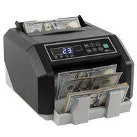Royal Sovereign RBC-ES200 Back-Load U.S. Bill Counter with Counterfeit Detection - 110V