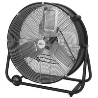 Royal Sovereign RACC-HV24 24 inch Black 2-Speed High-Velocity Drum Fan