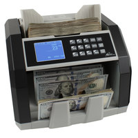 Royal Sovereign RBC-ED250 Front-Load U.S. Bill Counter with Counterfeit Detection and External Display - 110V
