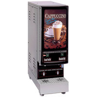 Cecilware 2K-GB-LD Cappuccino Dispenser with 2 Hoppers - 120V