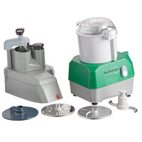 Avamix Revolution CFBB342DG Combination Food Processor with 3 Qt. Gray Bowl, Continuous Feed & 2 Discs - 1 hp
