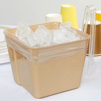 LK Packaging 7G084012 Plastic Food Bag / Ice Bucket Liner 8 inch x 4 inch x 12 inch - 1000/Box