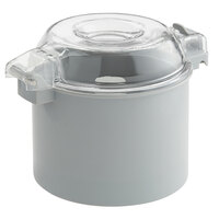 Avamix CB3S 3 Qt. Gray Plastic Bowl and Smooth S Blade for 1 hp Food Processors