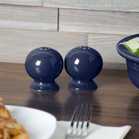 Homer Laughlin 751105 Fiesta Cobalt Blue Pepper Shaker - 12/Case
