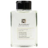 Aromae Botanicals Eucalyptus and Aloe 1 oz. Refreshing Shower Gel - 160/Case
