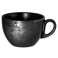 RAK Porcelain KR116CU23 Karbon 7.8 oz. Black Porcelain Cup - 12/Case