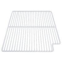 True 909428 White Coated Wire Shelf - 15 9/16 inch x 16 inch