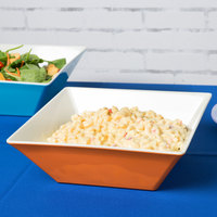 GET ML-248-ST Keywest 5.7 Qt. Sunset Square Melamine Bowl - 3/Case