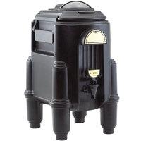Cambro CSR3110 Camserver 3 Gallon Black Insulated Beverage Dispenser