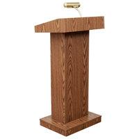 Oklahoma Sound 810-MO Medium Oak Finish Adjustable Orator Lectern