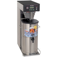 Bunn 35700.0033 ITCB-DV Infusion Coffee and Tea Brewer with 25 3/4 inch Trunk and Sweetener Function - Dual Voltage