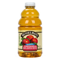 Musselman's 48 oz. Apple Juice with Vitamin C   - 8/Case