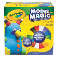 Crayola 232403 Model Magic 7 oz. 9 Assorted Color Modeling Compound