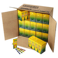 Crayola 520004 Classic 4-Count Assorted Crayon Tuck Box - 360/Case