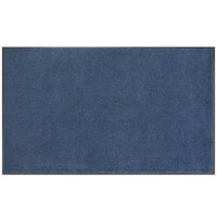 Lavex Janitorial 4' x 10' Blue Olefin Indoor Entrance Mat
