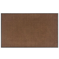 Lavex Janitorial 4' x 10' Light Brown Olefin Indoor Entrance Mat